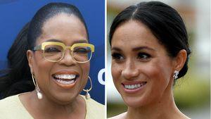 Offene Worte vor Geburt: Oprah ist stolz auf Herzogin Meghan