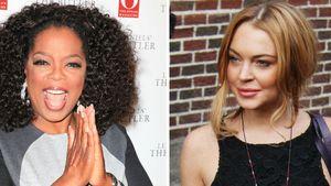 Lindsay Lohan und Oprah Winfrey