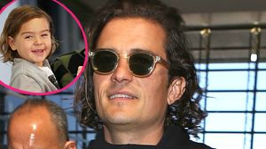 Orlando Bloom und Flynn Bloom