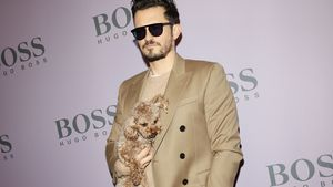 Orlando Bloom nimmt Hund Mighty mit auf die Fashion Week