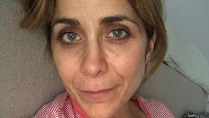 Völlig fertig: Panagiota Petridou hat Magen-Darm-Grippe!
