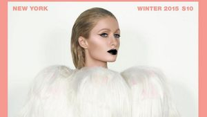 Paris Hilton auf dem Paper Magazine-Cover