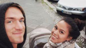 So halten Neu-Eltern Patrick Fabian und Lea die Liebe frisch