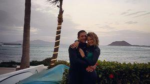 Peer Kusmagk und Janni Hönscheid im Urlaub