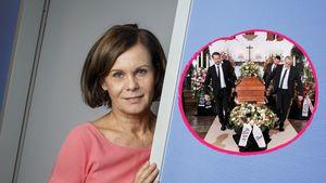"""Erste Bilder: So emotional wird Irenes """"Unter uns""""-Begräbnis"""
