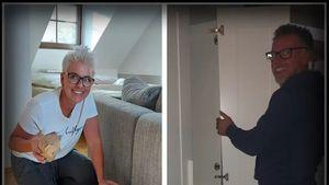 Umzugsendspurt: TV-Bauer Herbert hilft Petra beim Packen