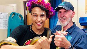 Dr. Bob happy: Hohe Spende von Dschungelkönig Prince Damien