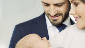 Endlich! Das erste Familienfoto mit Schweden-Prinz Gabriel