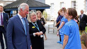 Prinz Charles besuchte Krankenpfleger seines Vaters Philip