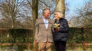 Total verliebt: Prinz Charles und Camilla posten Pärchenbild
