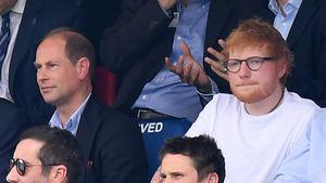 Wie echte Kumpels: Hier hängen Prinz Edward & Ed Sheeran ab