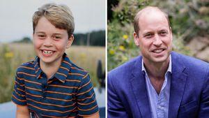 Fans überzeugt: Prinz George sieht hier aus wie Papa William