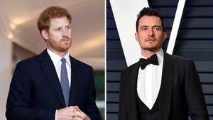 Nachbarn: Sind Prinz Harry und Orlando Bloom befreundet?