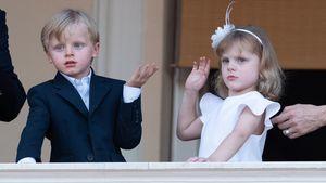 So groß geworden: Seltener Auftritt der Monaco-Zwillinge