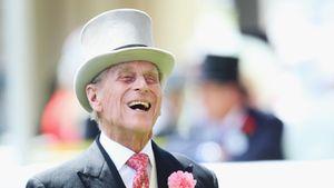 Prinz Philip beim Ascot-Pferderennen