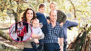 William und Kate teilen bisher unbekanntes Foto ihrer Kids