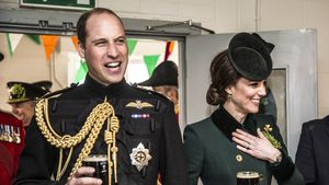 Prinz William und Herzogin Kate am St. Patrick's Day 2017