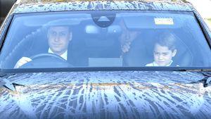 Hier fahren Prinz George und Co. zum Weihnachtsessen