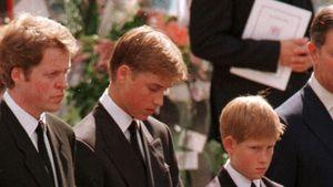 Trauergang für Diana: Wurden William & Harry dazu gezwungen?