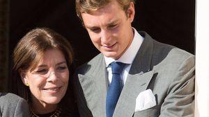 Prinzessin Caroline und ihr Sohn Pierre Casiraghi
