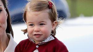 Prinzessin Charlotte, Tochter von Herzogin Kate und Prinz William