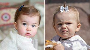 Prinzessin Charlotte und Estelle