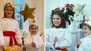Zum Luciafest: Estelle und Oscar wie Victoria & Carl Philip