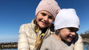 Royale Oster-Grüße: Estelle & Oscar strahlen um die Wette!