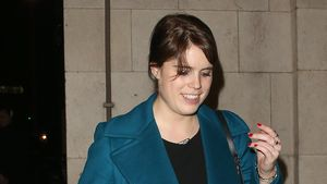 Prinzessin Eugenie vor einem Club in London