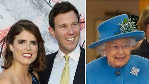 Prinzessin Eugenie und Jack besuchen die Queen im Urlaub