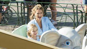 Spaß mit Leonore: Neu-Mama Prinzessin Madeleine frisch blond