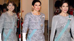 Prinzessin Mary 2008, 2010 und 2017 beim Neujahrsempfang in Kopenhagen
