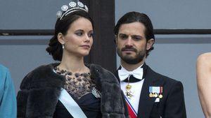 Lieber Autorennen? Prinz Carl Philip lässt sein Baby allein