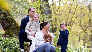Familien-Pic: Prinzessin Estelle mausert sich zu junger Dame