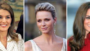 Herzogin Kate, Madeleine von Schweden, Prinzessin Victoria von Schweden und Fürstin Charlène