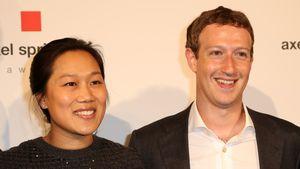Priscilla Chan und ihr Mann Marc Zuckerberg
