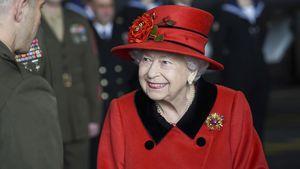 Mit diesem Schmuckstück zollte die Queen Prinz Philip Tribut