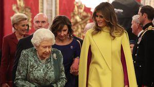 Melania Trump: Knallgelb-Look beim Treffen mit der Queen