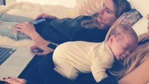 Mama-Glück! Rachel Zoe kuschelt mit ihrem Baby