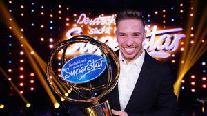 Stolzer Gewinner: So feierte Ramon Roselly seinen DSDS-Sieg