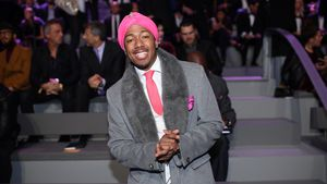 Rapper Nick Cannon 2016 in Paris