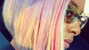 Farbexplosion: Raven Symone hat die Haare bunt!