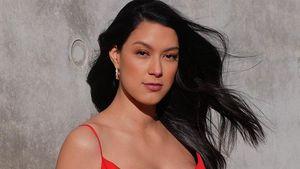 Diskussionen: Ist schwangere Rebecca Mir auf Foto zu nackt?