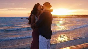 Hochromantisch: Massimo und Rebecca turteln im Paar-Urlaub!