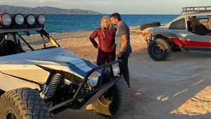 Action-Auszeit: Rebel Wilson macht im Urlaub eine Quad-Tour