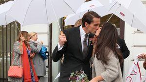 Jawort bei Regen: René Adler & Lilli haben sich getraut!