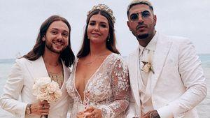 Große Sause in Weiß: So war Novalanaloves zweite Hochzeit!