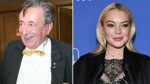 Richard Lugner: Er hetzt Privatdetektive auf Lindsay Lohan!