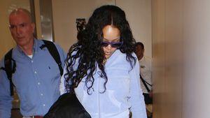 Rihanna am Flughafen von Los Angeles