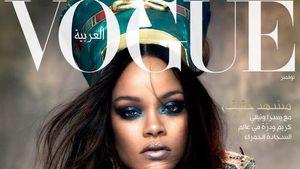 Wow-Cover: Rihanna glänzt auf der arabischen Vogue!